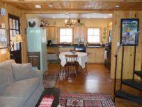 Cabin lr to kitchen