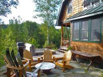 Cabin patio